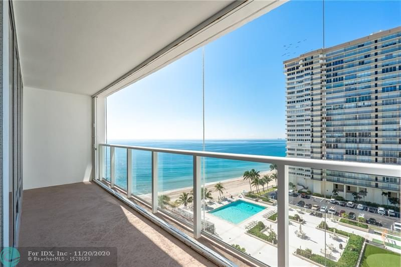 SELLER IS MOTIVATED! Stunning ocean views from every room. This substantially remodeled unit offered fully furnished and decorated. Semi Private elevator and double door entry that opens to a foyer and floor to ceiling windows throughout. The eat-in kitchen has light oak cabinetry, granite countertops, stainless steel appliances and wine cooler. Secured building with full amenities, 24hrs concierge, new pool, updated balconies (already paid for). Private access to the beach and walking distance to restaurants and shops.