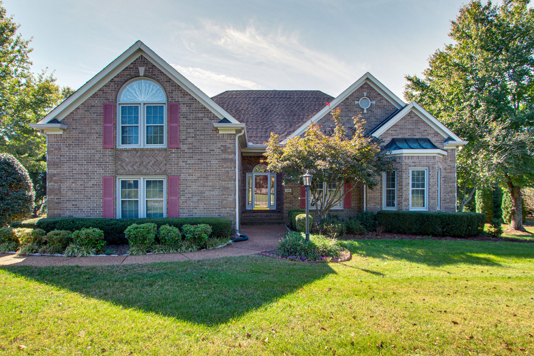 """Beautiful, one-owner, all-brick Ivy Glen home...Knockout kitchen with quartz counters...Gorgeous woods...Four beds...3 on the main level...Two owners' suites...one up and one down...Incredible sunroom...Pass/fail inspections...Sold """"as-is""""...Offers due by Sunday, 10/24/2021, by 8 p.m. with a response time of Monday, 10/25/2021, at 8 p.m."""