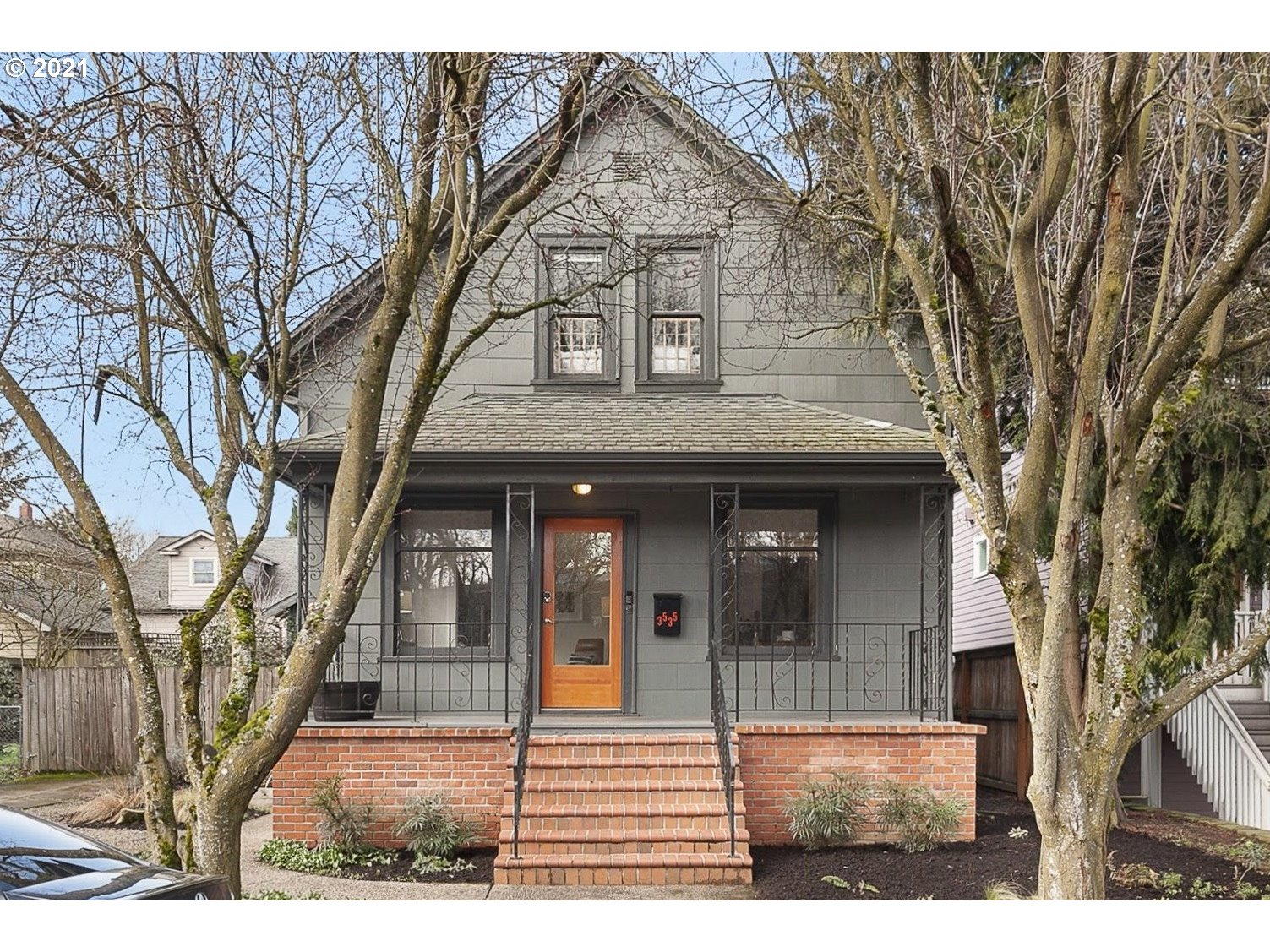 IG worthy light-filled South Sabin home featuring new wood floors on main, huge walk-in pantry, spacious primary suite, large/fenced backyard, & plenty of parking. Great close-in location w/coveted schools - just a block to coffee & WholeFoods, and easy dog-walking to Irving Park and more!