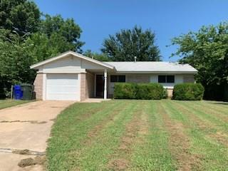 This brick 3 bedroom, 1 bathroom sits on a cul-de-sac and is close to OU! The home has new wood-look tile throughout along with new windows! The 3 bedrooms are on one end of the house with the bathroom at the end of that hallway. The bathroom has been updated with a tile shower. The living area is open into the dining area which is connected to the kitchen. The dining room has sliding glass doors that open into the large, fenced in back yard. There is a concrete patio space right off of the back door. Call today to schedule your private showing.