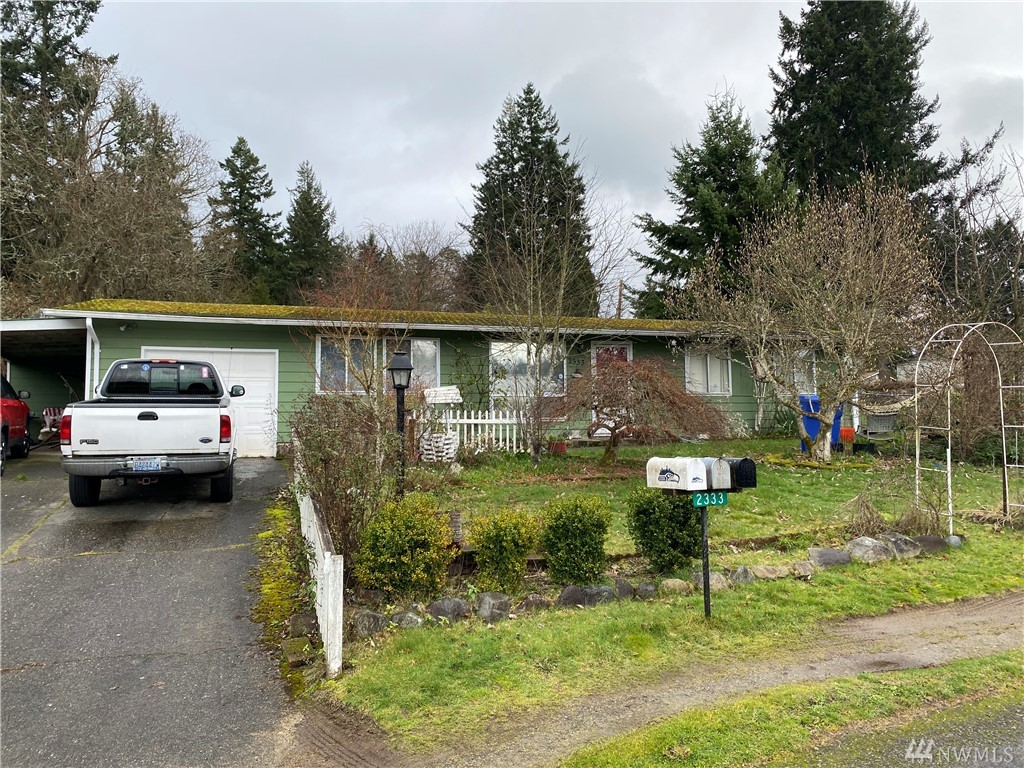 Bank Approved Short Sale!!!  Welcome to Steilacoom....This 4 bedroom, 1.5 bathroom offers 1365 sqft.  Open living, dining and kitchen space.  Corner lot.  Home is in need of some TLC.  Great project for owner occupied or investor.