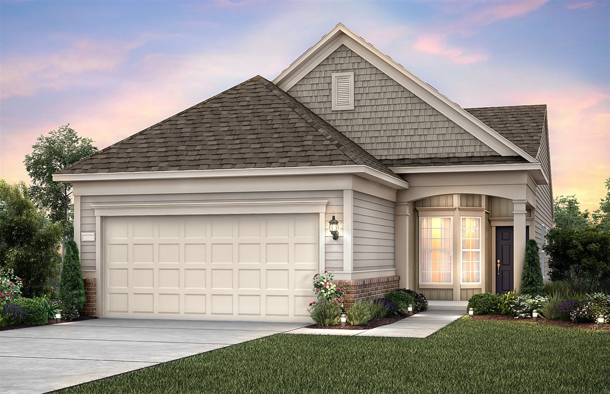 Amazing opportunity to own a brand new Abbeyville in the beautiful Southern Springs Del Webb active adult 55+ community. This home is FULL of great upgrades. You will enjoy  a large shower with tile surrounding it, a gorgeous granite fireplace, an added sunroom with a covered lanai for outdoor living, no carpet throughout, and much more! AMENITIES GALORE: resort style pool, tennis courts, pickleball courts, yoga studio, dog park, gym, ballroom, 13 miles of sidewalk and more