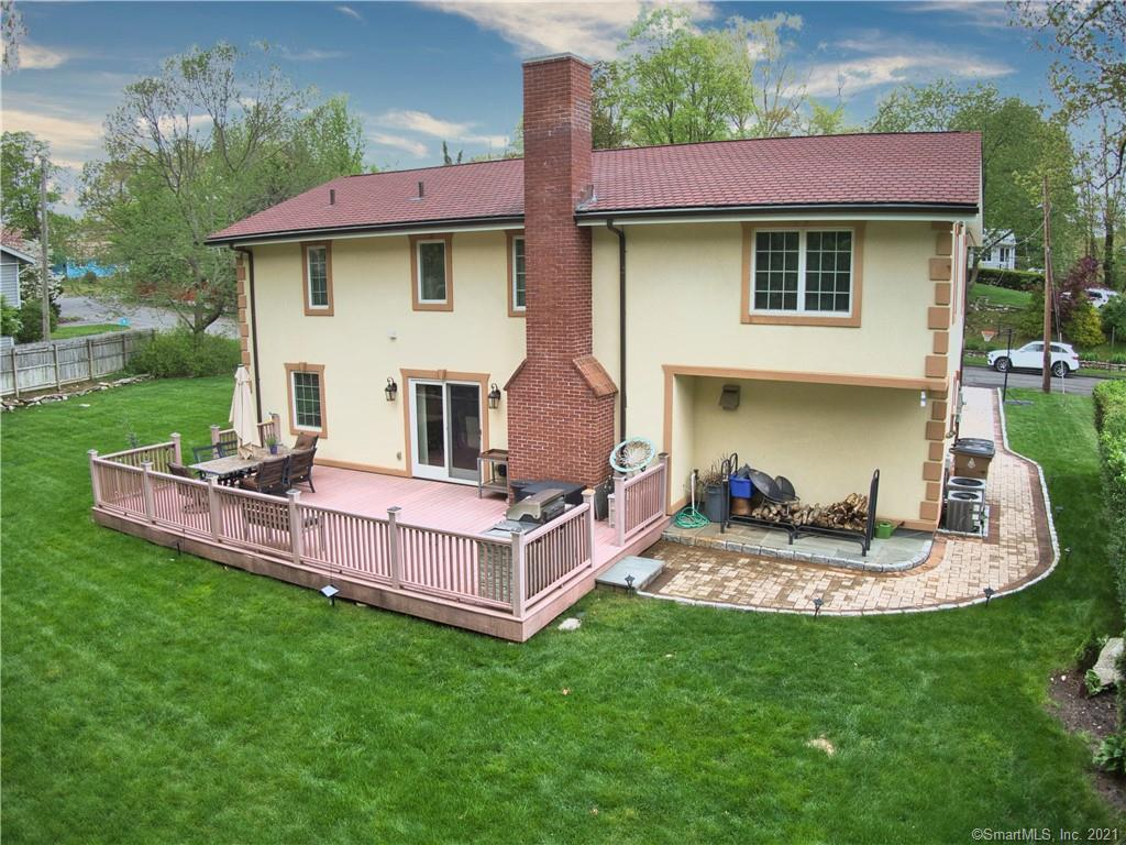 """Welcome to your """"WOW"""" Home! A Remarkable, Completely Renovated 5 bedroom Colonial in the heart of the Mid Ridges on beautifully landscaped lot! Step in to an open floor plan (feels way bigger than 2170q ft)  with neutral tones, recessed lighting and gleaming hardwood floors throughout. A large living room with wood burning fireplace and formal dining room with sliders to an expansive Trex deck. Also on the main level is a good size room with a closet that could be used as a 5th bedroom/ home office/ reading room and a full bathroom. A gorgeous kitchen with stainless steel appliances, granite countertops and breakfast bar.  Second floor offers a huge, bright Master Suite with vaulted ceilings, skylights, walk in closet and full bath. 3 additional large bedrooms all with walk in closets, a full bath and a separate laundry room. Bathrooms with double sinks.  Features include: Central A/C, sprinkler system, backup generator, security cameras and 1 car garage.                                                                      THIS IS ONE HOUSE YOU DON'T WANT TO MISS! Welcome to your """"WOW"""" Home! A Remarkable, Completely Renovated 4-5 bedroom Colonial in the heart of the Mid Ridges on beautifully landscaped lot! Step in to an open floor plan (feels way bigger than 2170q ft) with neutral tones, recessed lighting and gleaming hardwood floors throughout. A large living room with wood burning fireplace and formal dining room with sliders to an expansive Trex deck. Also on the main level is a good size room with a closet that could be used as a 5th bedroom/ home office/ reading room and a full bathroom. A gorgeous kitchen with stainless steel appliances, granite countertops and breakfast bar.  Second floor offers a huge, bright Master Suite with vaulted ceilings, skylights, walk in closet and full bath. 3 additional large bedrooms all with walk in closets, a full bath and a separate laundry room. Bathrooms with double sinks.  Features include: Central A/C, sprinkler system, b"""
