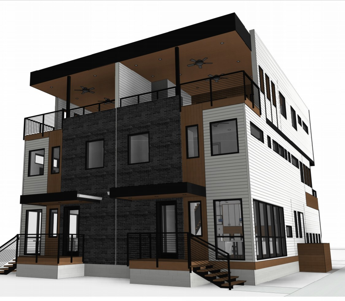 New Construction! Convenient location that is close to great Nashville locations to eat, work & play. Amazing floor plan & modern design in this 3 story home. 3rd floor is an entertainer's dream with a bonus room that opens to the balcony, fireplace & city view! All pertinent information to be verified by buyer & buyer's agent. Taxes TBD.
