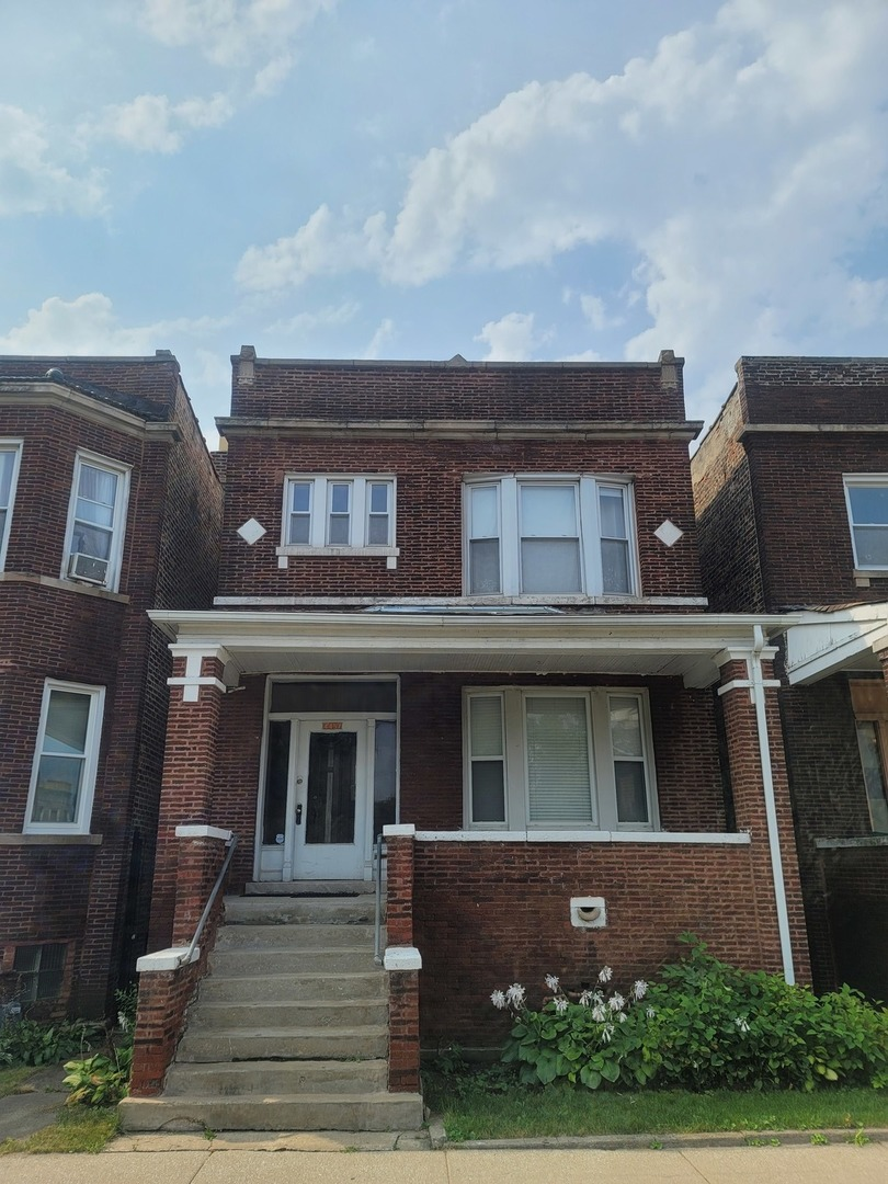 Where do I begin with this well underpriced beauty? The seller has done so much work since purchasing in 2005. Gut rehabbed the back 1/2 of both floors, New Complete tear off roof with additional insulation added, New Electrical in back 1/2 including breaker boxes,All Plumbing replaced, All windows replaced,Back doors replaced,Cherry custom kitchen on first floor (double oven, cooktop, vent hood),All HVAC systems replaced with high efficiency furnaces,Both side parapet walls rebuilt and additional tuck pointing on front and east side in 2006,Upper Window Lintels replaced in 2006,1st Floor bathroom remodeled in 2011,1st floor LR/DR HW floors replaced in 2011,Back porch mostly rebuilt in 2008, 2nd Floor Kitchen replaced in 2019, new stove and refrigerator,Washer and Dryer hookups in basement,Water Meter installed by City of Chicago,Garage door replaced in 2019. What else do you need? This will sell FAST!!!