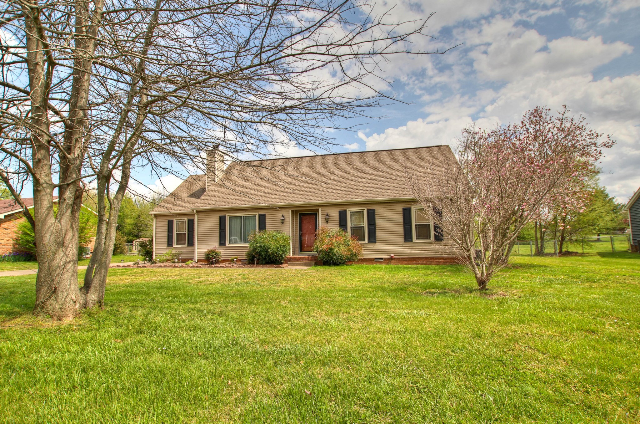 Great location!  County taxes only- triple Blackman schools!  Home sits on just over half an acre.  Fresh paint, refinished baths.  36x30, 3 car detached garage/workshop w/ electric & storage.  700 expandable sq. ft. upstairs already partially drywalled.