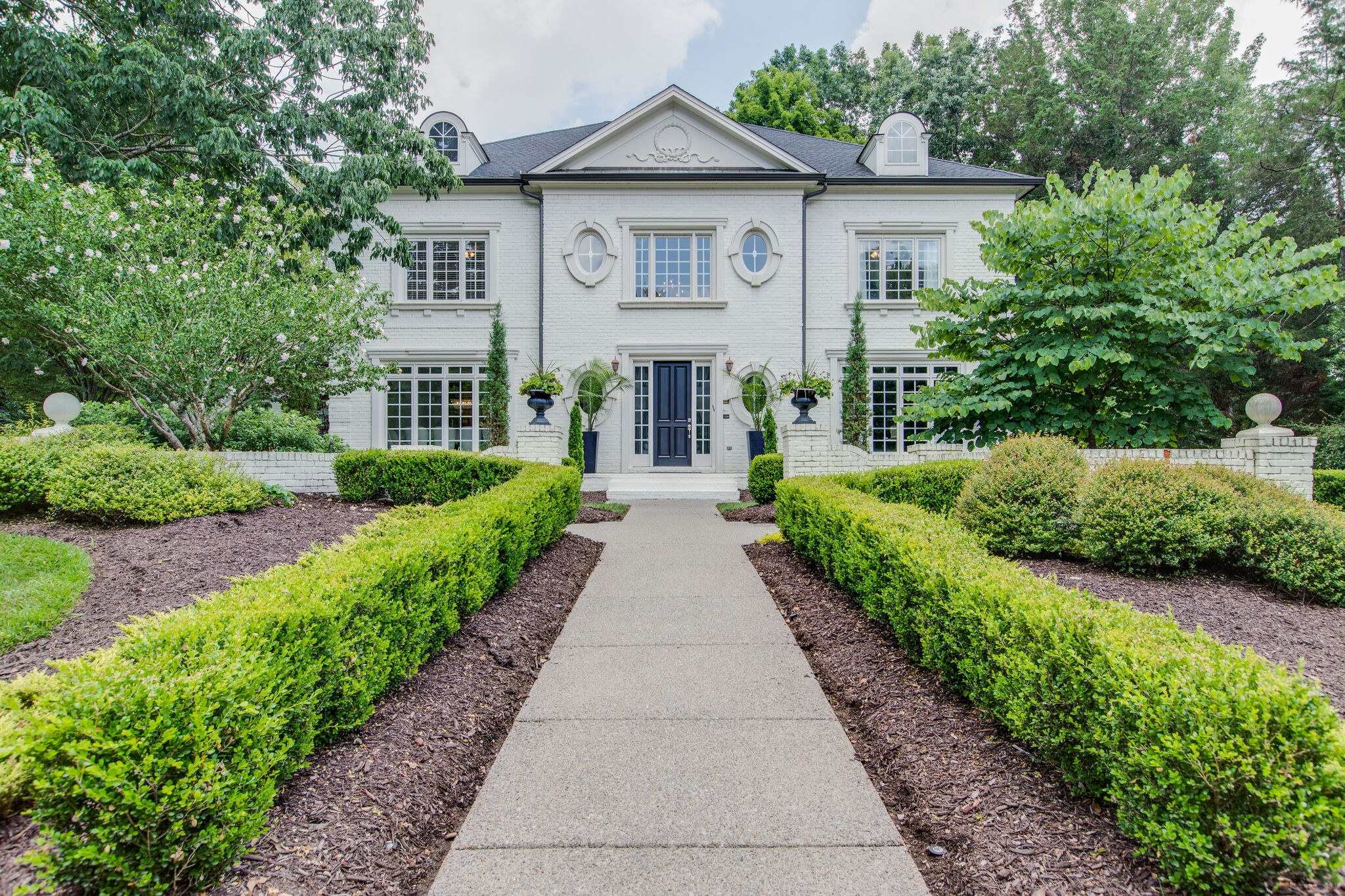 Sophisticated elegance! Completely renewed - white, bright, with all the modern touches, including a flat backyard with pool and hot tub. Seller offers HOME WARRANTY to Buyer. Covid restrictions in place. Masks required.