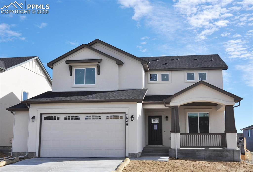 Ready in February. Capstone 2-story plan with 2 car garage and side extension in Hannah Ridge. 3 bedrooms plus study, 2.5 bath home. Kitchen features maple cabinets, granite counters and stainless appliances. Includes air conditioning. Gas line to range. Unfinished garden level basement includes 1ft taller ceilings. Ability to finish 2 bedrooms, 1 bath and large recreation room.