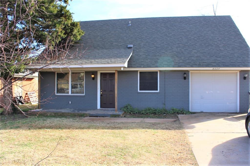 3 bedroom 2 bathroom 1 car garage 1360 sq ft built in 1966 – This home has all new flooring and paint in Mustang school districts and located a short distance from Mustang shopping and restaurants. Deposit is equivalent to 1 month's rent. Pets allowed restrictions apply.