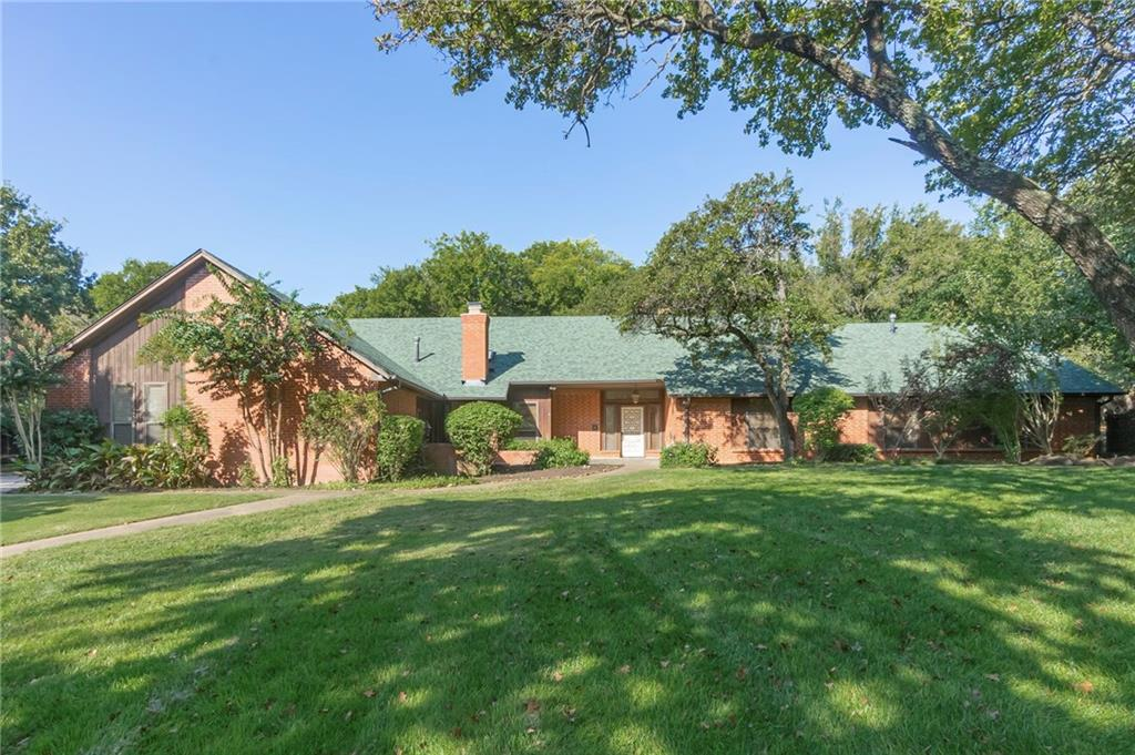 Wonderful opportunity to be on a 1.5+ acre (mol) lot with 4 large bedrooms, 3.5 baths, and a detached 30 X 50 workshop/garage!  Perfect location in esteemed Bavarian Forest has you just around the corner from I-35 making access to the entire metro a breeze.  Cathedral ceilings in the den, cozy stone fireplace in the breakfast room, and classic brick flooring in the entry are only a few of the amenities you'll find in this one.  Just off the master bedroom enjoy a private room that can house a hot tub, a tv room, or reading retreat.  3rd car garage currently equipped as a workshop.  Detached garage has all the space you need for storage, additional work space, game room, or future pool house!  The kitchen is well equipped with granite countertops and upgraded appliances.  Convenient pass through opening between the kitchen and formal dining.  Private study with built-in bookshelves.  Unfinished room upstairs available to become whatever you'd like.  Built-in desks in each guest bedroom.