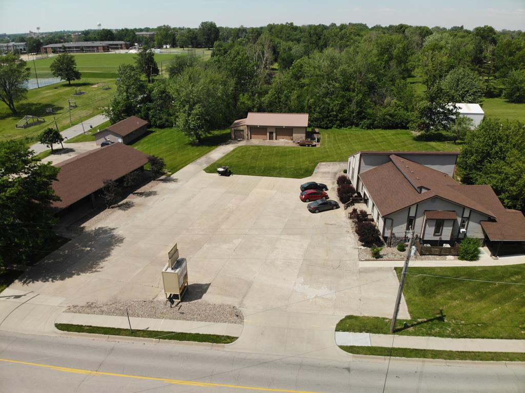 Now is your chance to buy 2 Commercial Properties in a great location with a good rental history. These buildings have almost 10,000 sq. ft. of rental space. Also, there is a 3rd lot large enough to build another building. Call Steve Jacobs at 660-341-0783 for your showing.