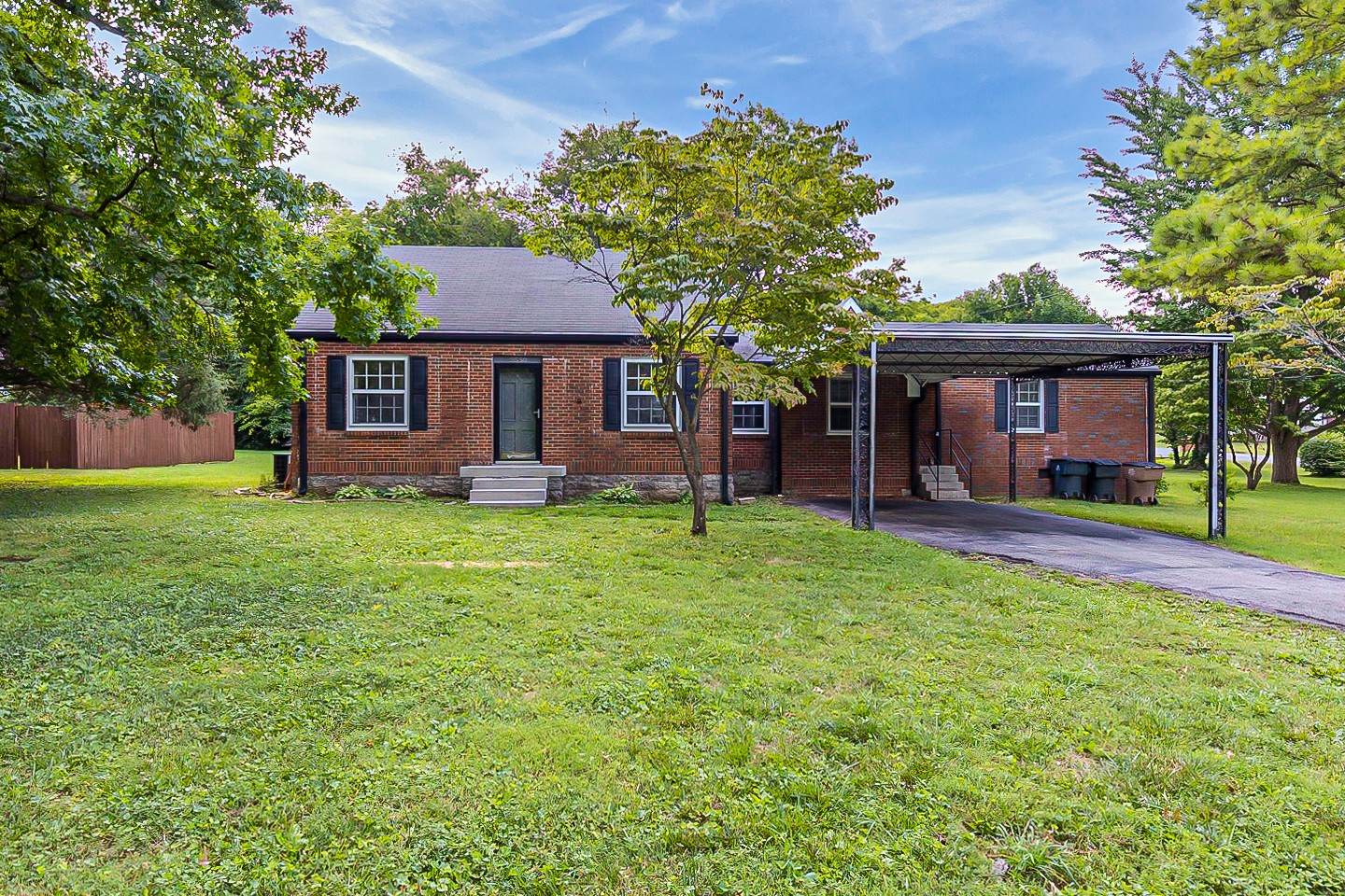 HOT Donelson location so close to everything! Airport, Shoping, Dining, Parks, and downtown! This Cozy Ranch home features separate dinning, Office/Den, 2 full baths. New Carpet in Bedrooms. An unfinished attic space offer bonus storage or ready to make your own.