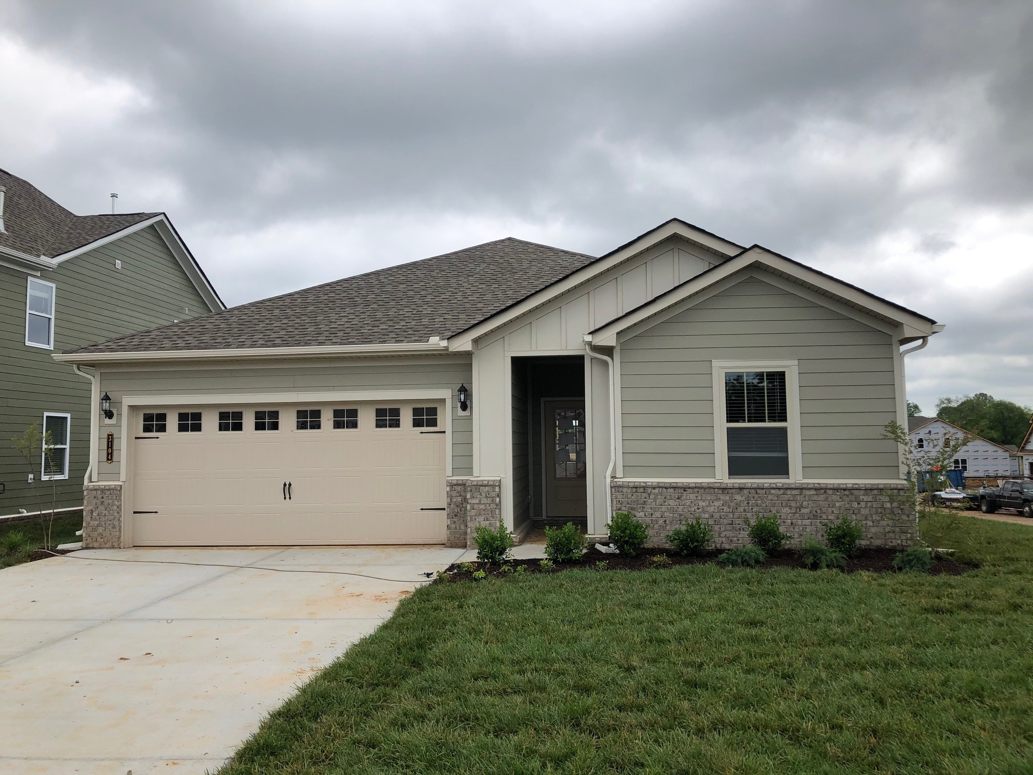 Finally a one level you can love in a charming community you want to be in. This price includes EVERYTHING we have to offer - gas fireplace and covered patio, quartz countertops, fridge, blinds, smart home automation, and much more. Community pool coming 2021 and walking trails recently installed. Wide open living space is inviting and perfect for entertaining.