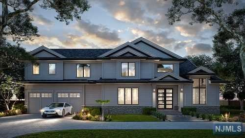 New construction IN DEMAREST, completion December  2019! Elegant design & finishes. Spacious open floor plan. 5 bedrooms, with 4.5 baths & approx. 4200 SF incl basement. High standard finishes and appliances  The first floor includes an eat-in kitchen with custom cabinetry, high-end stainless steel appliances, white quartz counter tops & a center island.  The Formal living room and Dining area have an open flow and the Family room with a gas fireplace is open to the kitchen and breakfast area with sliders to the backyard. On the first floor is also a mud room and a powder room.   The Second floor includes a master suite with 2 walk-in closets with custom built cabinetry, and a luxurious bath with a huge shower, standalone tub, and two sinks.  Addl 3 bedrooms, one with own bath. Other two BRs share a J&J Bath.  Laundry room on 2nd flr.   9' ceiling high. Basement w/large rec, a BR, a FBTH & storage.  Other features: hardwood floors, 2 car garage, sprinklers.