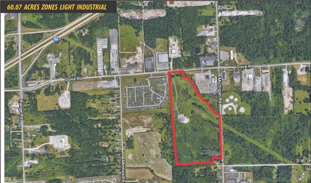 - 60.07 Acres Zoned I-L (Light Industrial) - Utilities Onsite - One Mile to I-94 and Three Miles to I-69 - Seven Miles to Blue Water Bridge and Sarnia Ontario