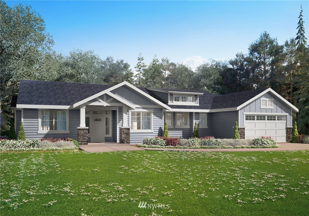 LOT 3 Built by Diggs Custom Homes*Lovely rambler to be built on a 1 acre lot. Interior features incl quartz island Kitchen, S/S appls, soft close cabs, Luxury LVP Flooring, soaring 9' ceilings, Family Rm, Office, Mud Rm, 3 BDRMS, Jack & Jill BATHRM between BDRMS 2 & 3, covered BKYD patio & more. Found on a rectangularly shaped, lightly treed, gated, flat lot on a quiet dead-end peaceful paved road. Approved 4BD septic/Installed well. 50+ other house plans & detached shop/ADU plans available.
