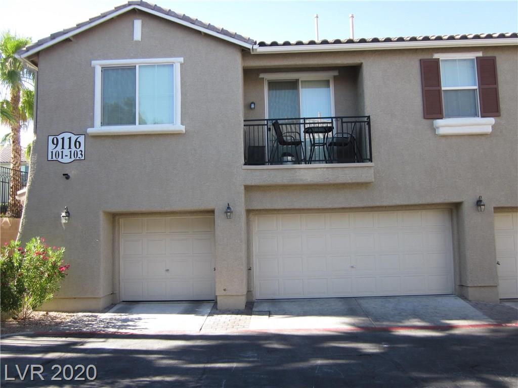 *Charming, spacious, open floor plan condo with attached garage in gated development* Breakfast bar with pedestal lighting. Balcony off dining area. All appliances included. Community pool and many amenities nearby. Don't miss this one!