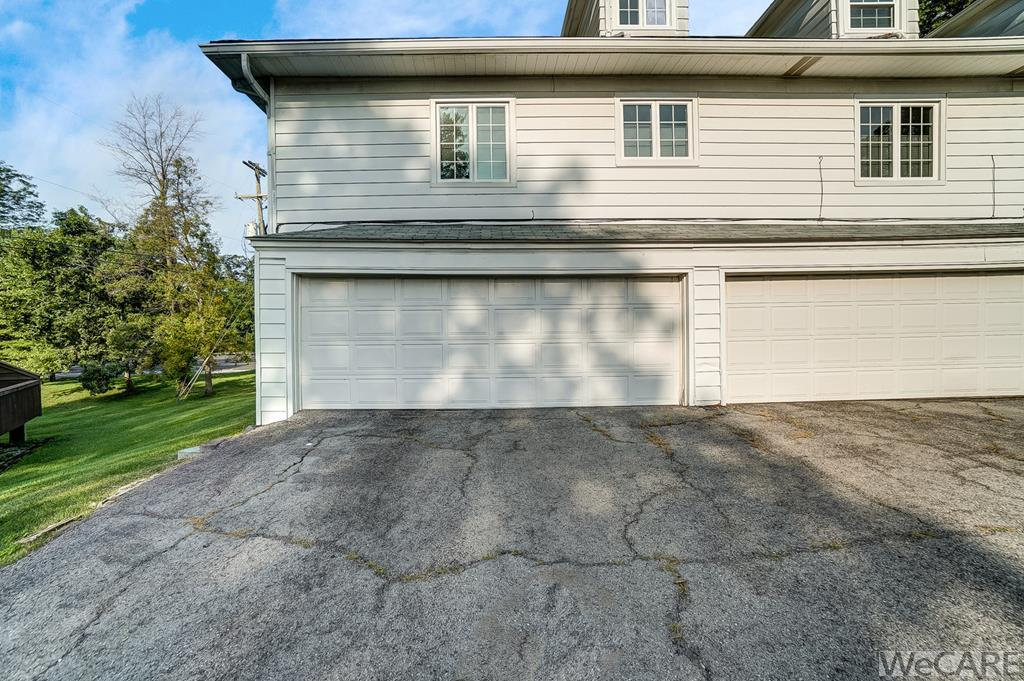 TWO SPACES IN ATTACHED GARAGE