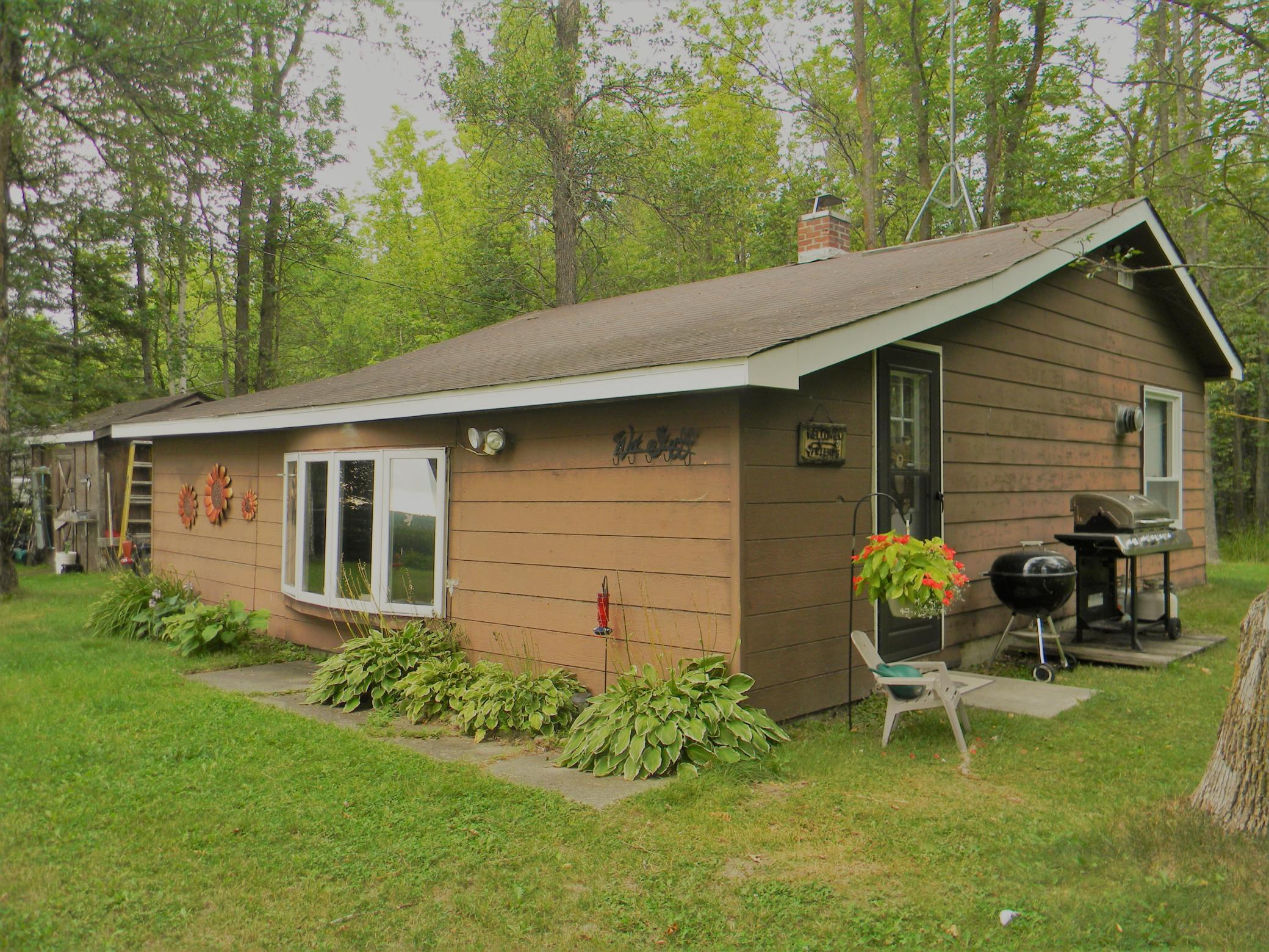 Look at this steal of a deal! A cozy cabin on Jessie Lake! Open concept cabin with 2 bedrooms sleeping 6. Property has 120 ft of private shoreline giving way to beautiful sunset views. Spend your days, weeks, months here. Gather at the water's edge and watch the weather roll by after a day of fishing. This property is meant for relaxing. Please note, property is served by an Artesian well. Welcome to Northern MN.