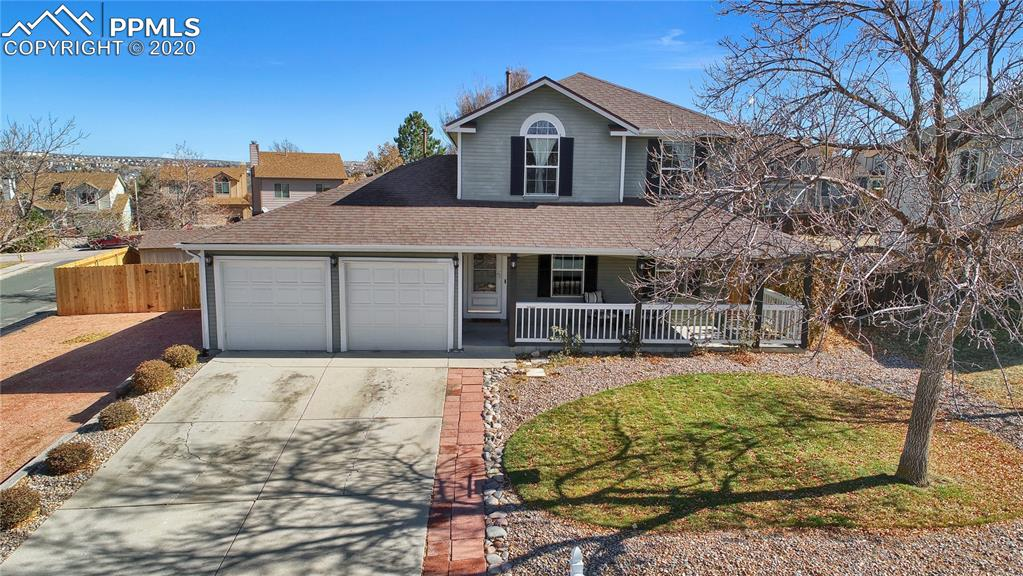 This home Is located in a great Northern neighborhood of Colorado Springs situated on corner lot inside of a cup-de-sac! Home has been updated and remodeled wonderfully. The exterior has tons of curb appeal and an adorable front porch! Rv parking with gate, storage shed and huge backyard will not disappoint you! While inside has been renovated with new appliances, pantry cabinets, tile backsplash, and brand new carpet. A Vivint home security system is also included. Come and check out this fantastic home in a stellar neighborhood! You won't be disappointed!