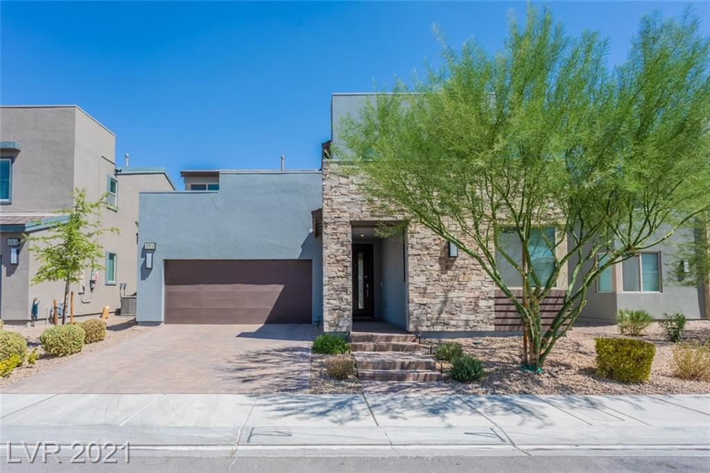 Built in 2019, this North Las Vegas two-story home offers quartz countertops, and a three-car garage. This home has been virtually staged to illustrate its potential.