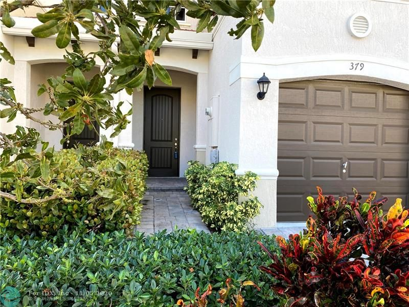 Beautiful and peaceful. This new construction (2017) 3 bedroom 2.5 Bath townhome sits near a well-maintained historical grounds (Branhilda Richardson-Knowles Memorial Park) which is just minutes away from the beautiful beaches of Deerfield Beach, including the crowning jewel of the city - the Deerfield Beach International Pier. There's more! 9 minutes away from the acclaimed Mizner Park for food, shopping, fun and community favorites such as Trader Joe's and Starbucks. Equipped with washer/dryer, automatic garage door opener and hurricane shutters. Don't miss your opportunity to bring your finishing touches to this beautiful townhome.