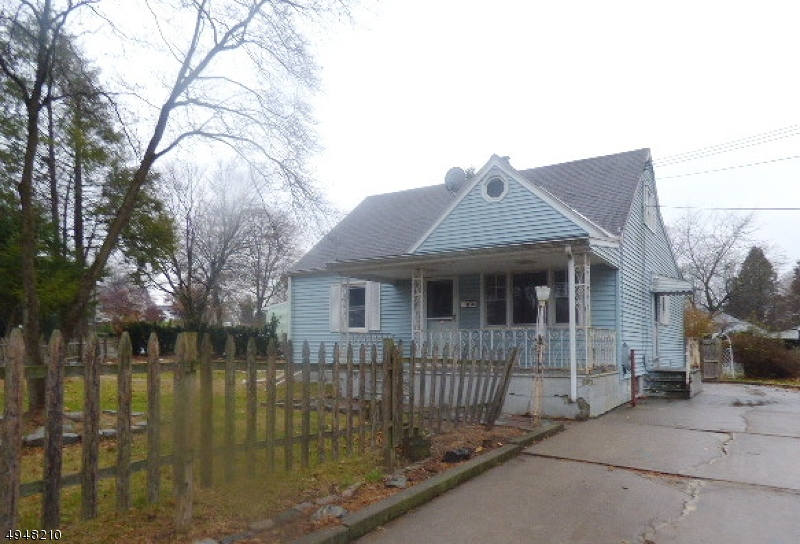 Cute Cape Cod home with 2 BR 1 Bath, 2nd full bath in basement, finished attic, fenced yard and paved driveway for off street parking.  Sold AS is condition, seller will not complete any repairs to the subject property, either lender or buyer requested.  First look expires Dec. 23, 2019 only owner occupant offers will be considered during this time.  Close to all amenities and commuting arteries.  Nice level backyard.
