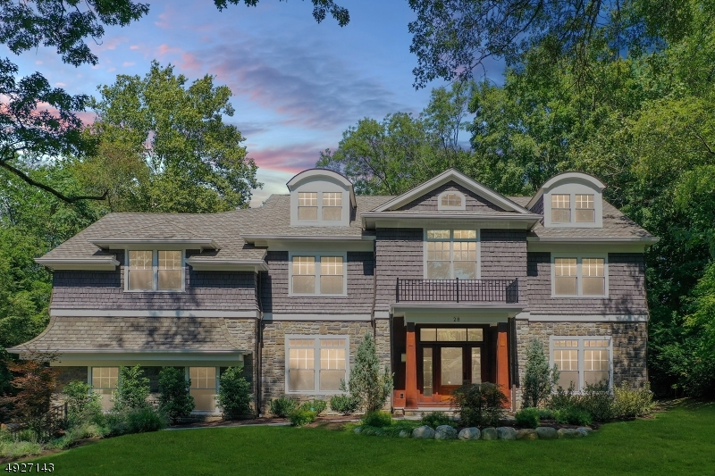 """LUXURY LIVING AT ITS FINEST!NESTLED ON A PARK LIKE SETTING W/.69 ACRES OF LEVEL LOT AND PERCHED IN CHATHAM'S MOST DESIRABLE 'ROLLING HILL"""" NEIGHBORHOOD, THIS NEW COLONIAL FEAT APPROX 7500 +/-sq ft OF FIN LIV SPACE ACROSS ALL 4 FLRS.A 2 STORY MARBLE FOYER GREETS YOU AS YOU FIRST STEP INSIDE,FLANKED BY A SPACIOUS LIV & DIN RM;THE GOURMET KIT WAS DESIGNED W/THE CHEF IN MIND & IS LOADED W/ALL THE BELLS & WHISTLES. A WALK IN & BUTLERS PANTRY,MUD ROOM,GREAT RM W/FRPL,LIBRARY & POWDER RM COMPLETE THE FIRST LEVEL.5 KING SIZE BED SUITES ARE FOUND ON THE SECOND FLR, AMONG THEM IS THE MSTR SUITE EQUIPPED W/SPA-LIKE BATH, 2 CUSTOM WALK-IN COSETS & BALCONY OVERLOOKING LUSH GROUNDS,LAUNDRY RM & 4ADD'T BATHS COMPLETE THIS LEVEL.BONUS 3RD FLR REC RM & FIN BASEMENT W/WINE CELLAR,MEDIA RM & MAIDS QUARTERS.INCREDIBLE VALUE!"""