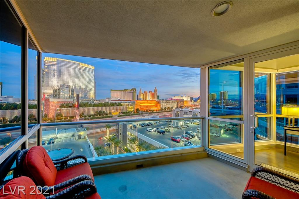 RARE CORNER UNIT W/ UNOBSTRUCTED VIEWS OF THE STRIP INCLUDING THE WORLD FAMOUS CITY CENTER & T-MOBILE ARENA* CUSTOM KITCHEN COMPLETE W/GE MONOGRAM S/S APPLIANCES + ALL THE KITCHEN ACCESSORIES YOU'LL EVER NEED*EVERY ROOM SHOWCASES FLOOR TO CEILING WINDOWS TO BRING IN ALL THE NATURAL LIGHT*PRIMARY BEDROOM SUITE FEATURES A PRIVATE BALCONY W/ PICTURESQUE VIEWS OF THE MOUNTAINS FROM THE WEST & MAGNIFICENT SUNSETS* PANORAMA TOWERS IS A PREMIERE HIGH RISE COMMUNITY W/LUXURY AMENITIES TO SATISFY YOUR EVERY NEED: FROM THE STATE OF THE ART FITNESS CENTER, MASSAGE TREATMENT ROOMS, THEATER ROOM, PRIVATE CONFERENCE/RECREATION ROOMS, TO THE OVERSIZED POOL/SPA AREA, 24-HR GUARD GATED SECURITY, CONCIERGE DESK AND LIMOUSINE SERVICE* YOU'LL APPRECIATE HOW THIS BUILDING IS VERY WELL-MAINTAINED* THIS HAS BEEN USED AS A VACATION HOME & PROFESSIONALLY CLEANED ON A REGULAR BASIS*UNIT INCLUDES 2 PARKING SPACES* THIS CAN BE PURCHASED FULLY FURNISHED, ALL YOU'LL NEED TO BRING ARE YOUR SUITCASES!