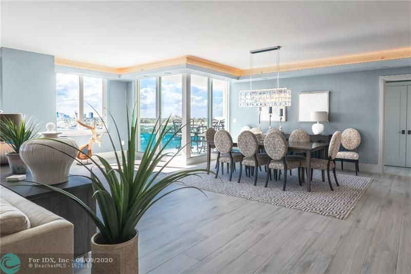 Luxurious Fully Customized interiors complete! Premier location in the heart of Fort Lauderdale's waterway. Renovated from floors to ceilings by WABentz Construction. Smart home operated unit by Control4. State of the art interiors featuring warm coastal neutral shades with dramatic,unobstructed views of the main intracostal waterways,lake Sylvia,downtown skyline & sunset through every window with cruise ship activity to the South. New tiles and glass railings on balconies. Master Bedroom features its own ensuite balcony, platform shower equipped with antifog mirror & tiled backsplash bathtub. Unit completely reconfigured,Gourmet kitchen with open layout.All new AC units,Subzero & Wolfe Appliances,including wine cooler. Boutique building with great security and amenities.