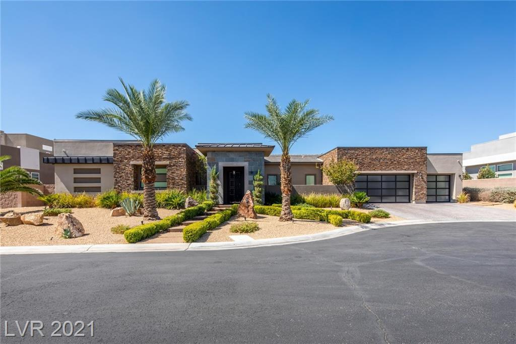 Impressive single story located in the prestigious gated community. Custom Luxe One Level Beautiful Estate with open floor plan: Featuring 4 En-Suite BRs & 6 Bath, Media Room, Dining Room, Family , Great Room. This residence blends indoor and outdoor appeal into a seamless whole that is both exciting and masterfully executed. Whole house  sound system, light features, one touch motorized window treatments, 20' pocketing doors and one of a kind Kitchen with large center island, Wolf & Sub-Zero appliances, wet bar & walk-in pantry. Master bedroom with spa-like master bathroom & custom walking closet. Pocketing doors transition to a large backyard with putting green, outdoor kitchen, pool & spa. Solar panels are paid for, 16-seer high efficiency air conditioner, 98% efficient furnace, nest thermostats and blown-in insulation. Great architecture & excellent finish top quality! Get used to hearing your guests tell you that this is the most beautiful home they have ever seen!