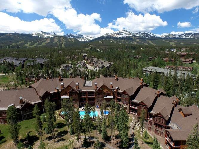 There is no comparison to BlueSky for in town luxury mountain living with ski in/ski lift to Peak 8. 3 bedroom TOP FLOOR w/vaulted ceilings and large south/west facing deck. 24 hour front desk, day spa, heated pool & 3 large hot tubs, exclusive heated 8 x 10 storage, fully furnished, assigned heated parking, kid's game room across from the fitness center, on-site ski rental shop with free ski valet, approx. 3 blocks to main street, private shuttle, day spa, TripAdvisor Certificate of Excellence.