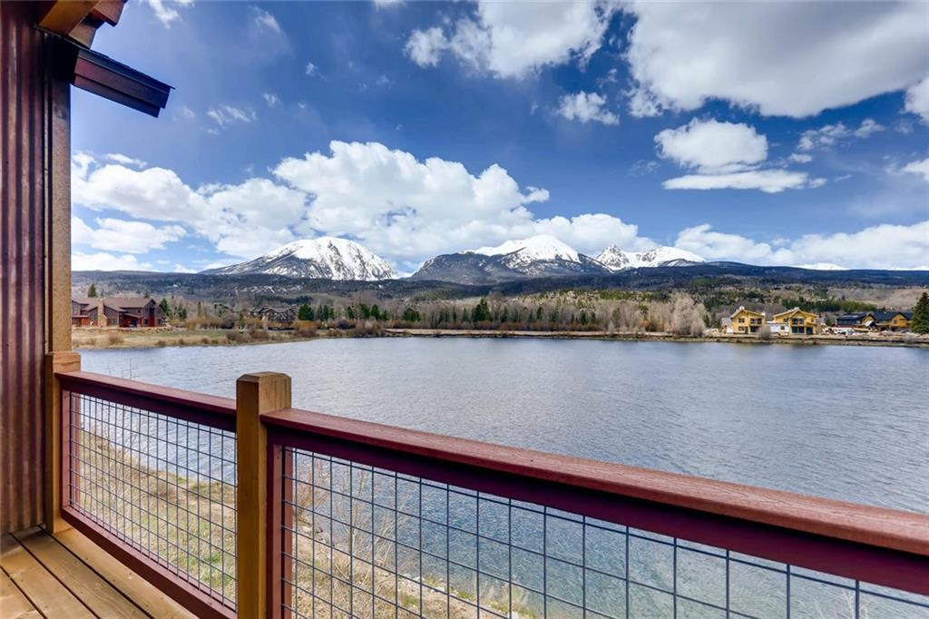 Extremely Rare Lake Front at Angler Mountain Ranch. This highly desirable location brings an open floor with beautiful finishes and arguably the best views of the Gore Range. This well maintained home offers one of the best floor plans available in AMR, with Main floor master, No Stairs into the property and maintenance free living with an affordable hoa. Property comes with private fishing on stocked lake, clubhouse, and access to everything Summit County has to offer!