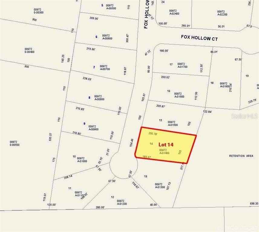 Lot 14 Fox Hollow Drive, Hampton, FL 32044