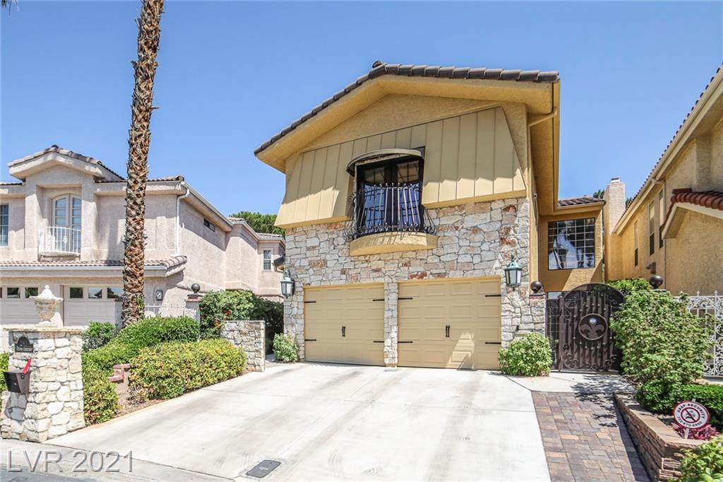 """JUST LISTED*UNIIQUE*AVISH* ELEGENTLY UODASTED WITH STYLE* CUSTOM GOLF-COURSE STUNNER *ENVIABLY POISED IN  QUIET ENCLAVE CIRCLE OF CUSTOM HOMES  IN  THE MOST CHERISHED CELEBRITY-FAMOUS LOCALE IN  VEGAS* 3 MIN  LAS VEGAS STRIP""""7 MIN AIRPORT, 10 MIN T-MOBILE & RAIDERS STADIUMS** YOURE OWN PRIV GATE FROM SERENE BACKYARD ONTO 10TH GREEN *W SPARKLING LAKE & *THE ACTUAL? F.B.I.-PLANFROM THE MOVIE """"CASINO""""*..THE MESMERIZING INTERIOR IS *A SITE TIO SEE*.BOASTING AN INCREDIBLE GREAT ROOM W 34' FT HIGH CEILINGS (IDEAL TO HANG YOUR  BIG PAINTINGS &  MEMOIRS) *25X24 RELAXING FANILY RM*OPENS OUTSIDE  FOR SUPERB IN'N'OUT GET-TOGETHERS*SPECTACULAR MASTER  OPENS TO LARGE LOUNGING CHEERFUL BALIONY & LUSH  GOLF COURSE.*2 MORE KING  BEDRMS *HARDWOD & INCREDIBLE MARBLE FLRS ALL OVER*BIG 2 CAR GARAGE WITH ROOM FOR GOLF CATR*INCREDIBLE KITCHEN W JAW-DROPPING FEATURES YU WONT EVER FORGET*PHENOMENAL 24/7 GUARD-GATED WORLD-CLASS SECURITY**HOA ONMLY$138 MO.* PLANS FOR SPA-POOL WITHJ SWIM AGAINST THE TIDE FEATURE"""