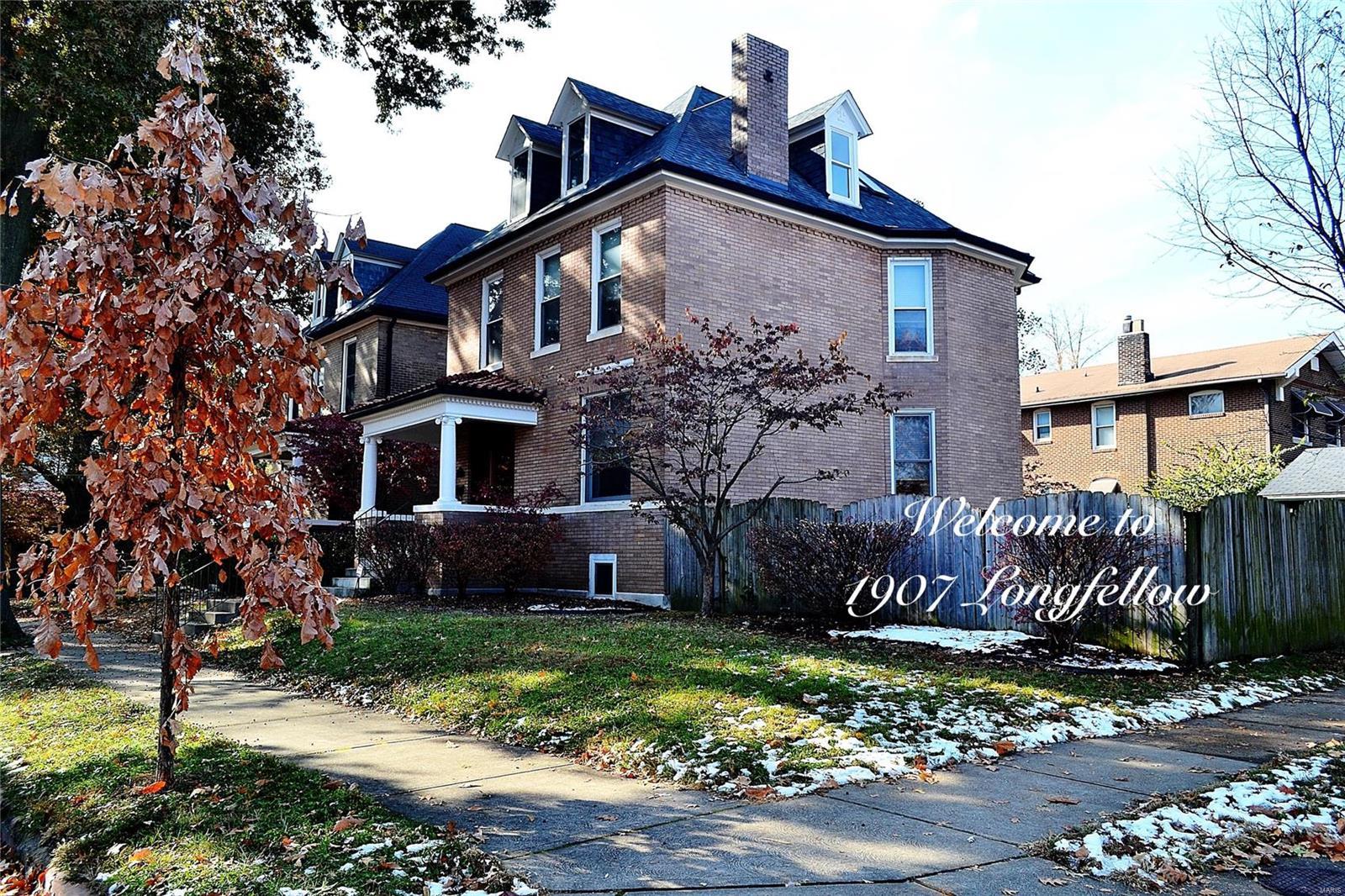 1907 Longfellow, St Louis, MO 63104
