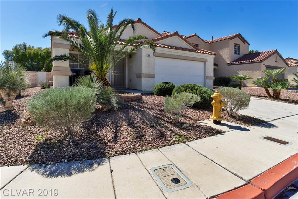 STUNNING SINGLE-STORY HOME ON CORNER LOT:  2 BEDS * 2 FULL-BATHS * OFFICE/DEN THAT CAN BE CONVERTED INTO 3RD BEDROOM * 2-CAR GARAGE * BRIGHT, OPEN FLOOR PLAN * VAULTED CEILING *  LIVING RM W/ DINING RM AREA * SEP FAMILY RM * KITCHEN OPEN TO FAMILY RM - HAS ISLAND & LG PANTRY * NEWLY PAINTED * WINDOW BLINDS * CEILING FANS * TILE FLOORING THROUGHOUT *  APPLIANCES INCLUDED * DESERT LANDSCAPING *  COVERED PATIO & STORAGE SHED IN PRIVATE BACKYARD *