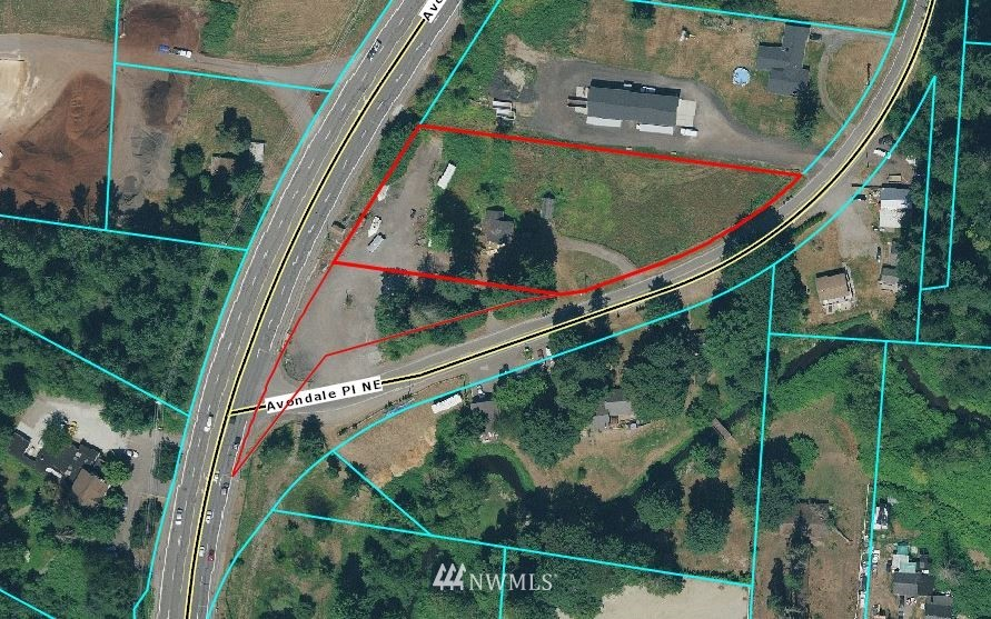 Great location and opportunity to purchase 1.978 acres of Land just north of the PCC Market and neighboring businesses off Avondale road. This high traffic parcel includes a second tax parcel 727310-0098. Property potential for a variety of business types. Church, Schools, Landscape Nurseries, Day Care, Animal Specialties, Agricultural uses, Forestry uses, Many general land uses, Few Retail & Manufacturing, Residential, Regional, Cultural & Recreational per King County Code.