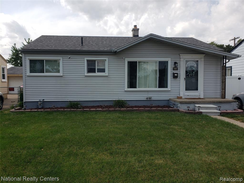 Showing to start on Tuesday on the 7th!!!!!! Very neat and clean three bedroom ranch with a partially  finished basement and 2 1/2 car garage. New flooring in basement in 2019, HWH(2019), Roof (2019), Bathroom was updated in 2021, New privacy fence in 2020, Dishwasher(2020). All appliances stay minus washer and dryer. All M& D approx.