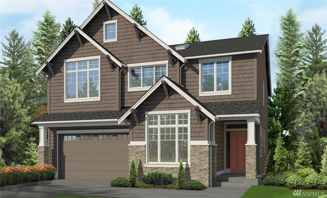 "Lot 169, ""Sycamore"" plan !! This home features 5 bedrooms, 3.5 bathrooms, rec room, designed for today's lifestyle! Standard features include stunning slab quartz in kitchen and baths, innovative Kitchen-aid appliance package, 7"" wide plank floors, 8' doors, mud set shower pan and tiled bath wall in master. Full wall of windows allow for natural light! Covered patio brings the inside out! Beautiful community with several parks and trails in the Tech heavy corridor of Redmond! Final Phase !!"