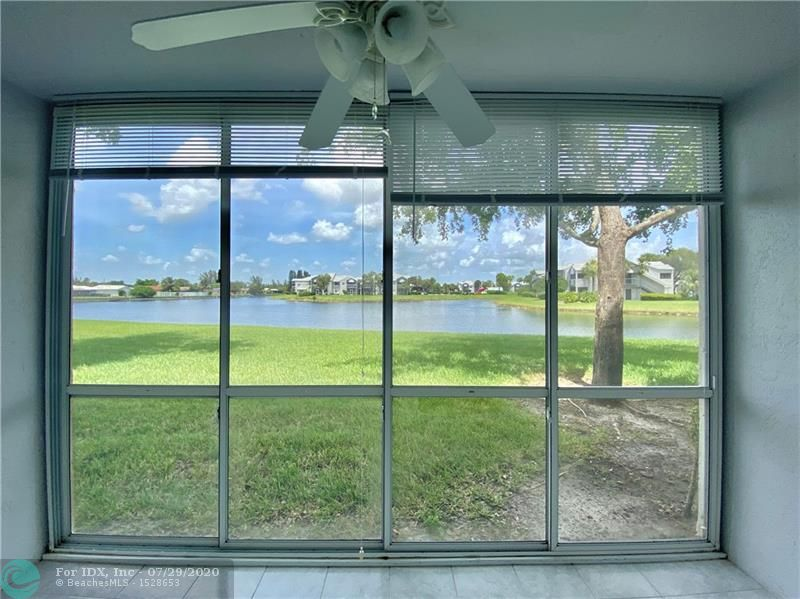 WOW| GREAT WATER VIEW, GREAT 1ST FLOOR, EXCELLENT CONDITION ALL TILED,FAIRLY NEW APPLIANCES ,ROOF ONLY 2 YEARS NEW,ENCLOSED PATIO, SOME FURNITURE CAN STAY. CLUBHOUSE DEED PAID IN FULL, MEANS LOWER MAINTENANCE, BUILDING HAS IMPACT WINDOWS, PARKING RIGHT IN FRONT, NO RENTING, DELAYED CLOSING UNTIL 7/15/2020,COMMUNITY REPRESENTS ITSELF AS 55 + COMMUNITY
