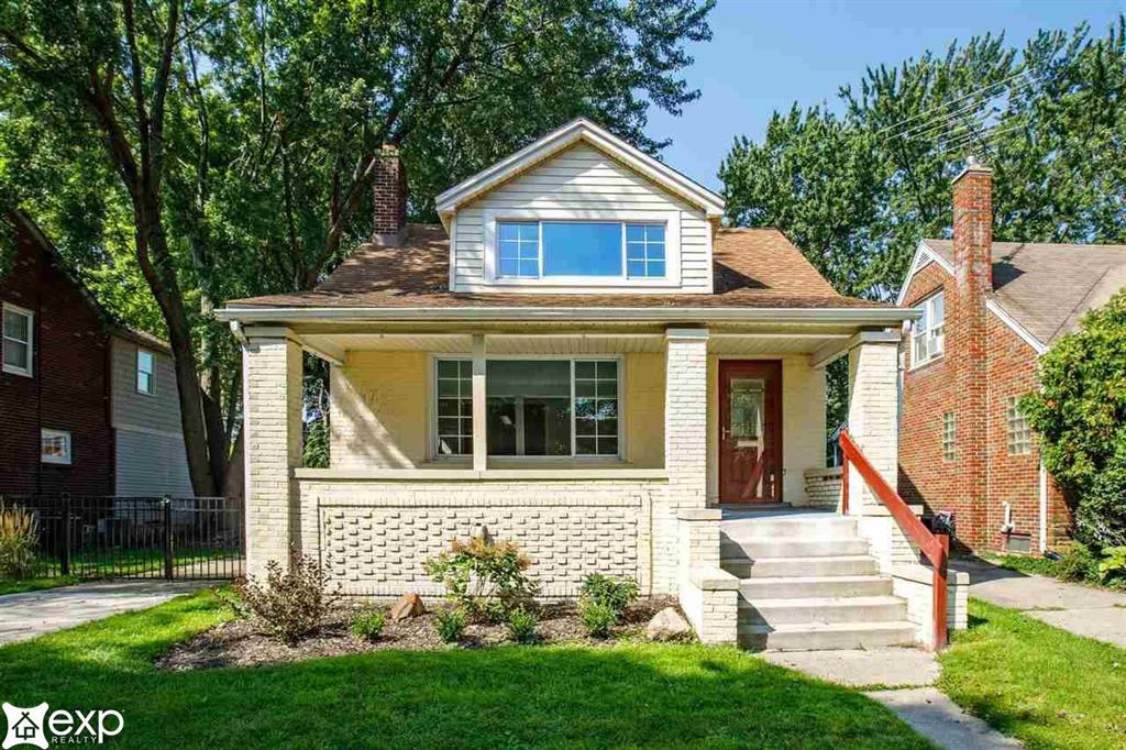 *** OPEN HOUSE SUNDAY 8/22 - 11-2 *** Welcome to the beautiful city of Grosse Pointe! This fully updated home amazes at every turn.  Enjoy the large covered front porch.  A stunning natural fireplace greets you as you walk through the front door.  The main floor includes a living room, large dining room, bedroom, new bathroom with huge shower, new kitchen and television room.  Walk up the stairs to a second bathroom and two large bedrooms.  This home features brand new kitchen cabinets with quartz countertops and stainless steel appliances. Both bathrooms are also newly updated.  There is also new carpet, new wood flooring, new furnace, updated plumbing and electrical and a new garage door! This home truly is a MUST SEE!