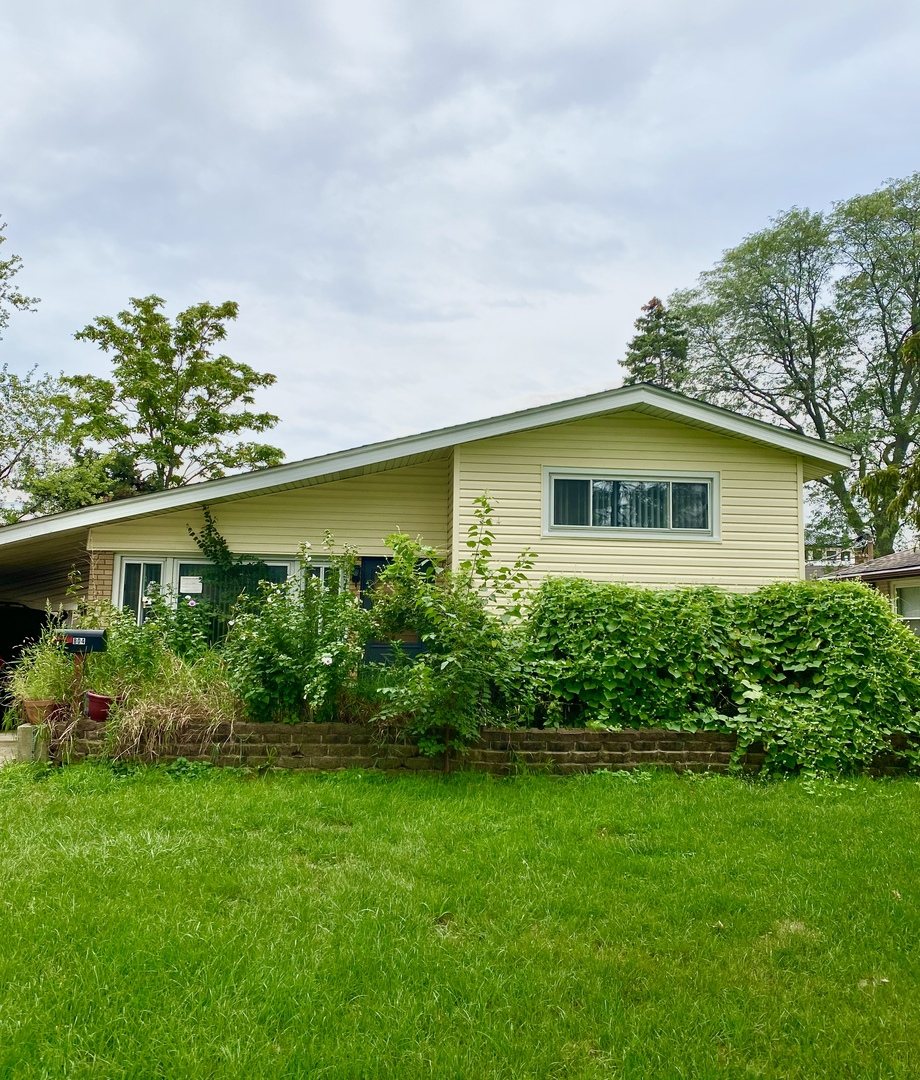 Lots of potential in this 3 bedroom 2 bathroom Home, with full finished basement with huge family room. Walk to everything.  Home needs TLC.