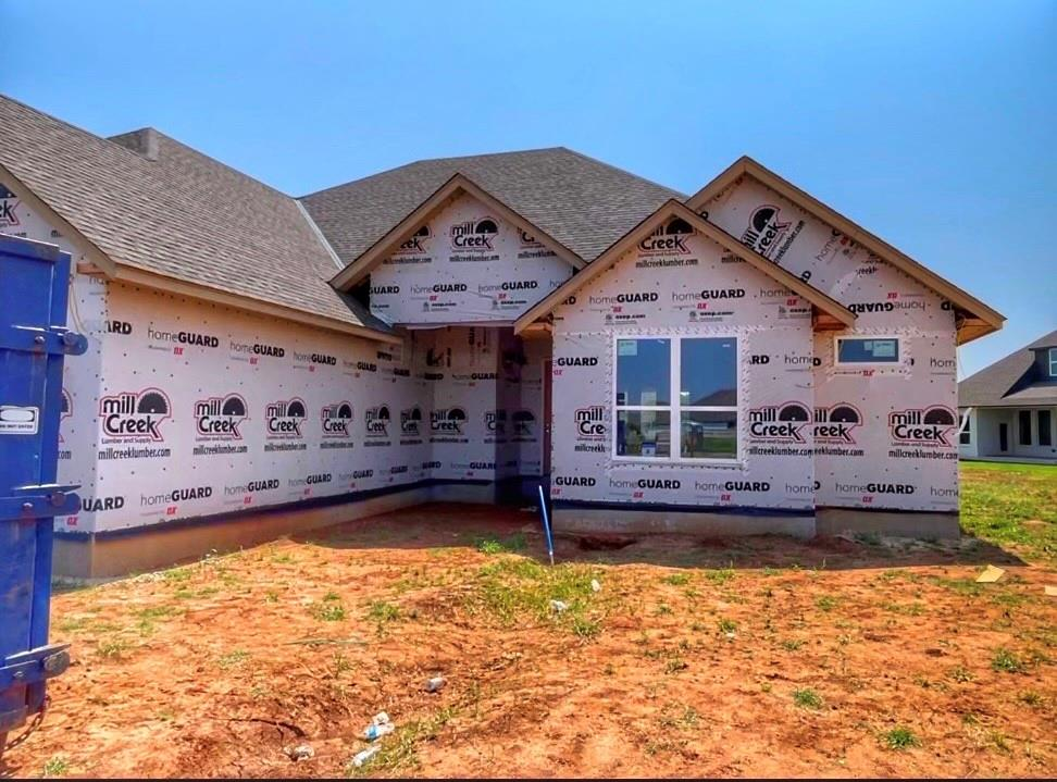 This home will have major curb appeal on this oversized culdesac homesite! Quality of craftsmanship and careful planning are put into the design of each and every home from this well known builder. Picture the following: A stunning kitchen with abundant cabinetry and large center island anchors the home, connected in the open concept to the dining space and the living room with gas fireplace. The owners retreat bedroom is spacious & bathroom has a perfect double vanity! The free standing tub provides style and the walk-in, tile shower is top of the line. An owners suite closet is outfitted with extras as well. Don't miss the game room. Sprinkler system. Details abound everywhere you look- designer lighting, and great colors schemes. Meanwhile, a covered patio in back for grilling & chilling. Neighborhood amenities include a pool, clubhouse, workout facility & basketball court. Welcome Home!  *Photos representation similar quality of a finished home*