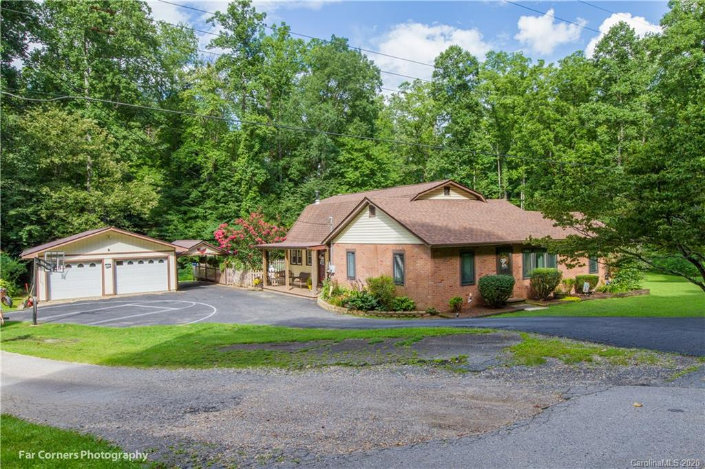 Welcome to Pleasant Gardens! Beautiful 4/2 home in a great community. Close to PG Elementary. Having to stay home because of Covid? Relax around the beautiful in ground pool. Brand new liner installed in July.. The house has much to offer. The family room features a wood stove that keeps the home cozy. The dining room is just off of the family room which leads to the kitchen. Brand new top of the line appliances. Three of the bedrooms are on the main off of the living room. Down the hallway the first bedroom is being used as master bedroom. Two of the bedrooms are off of the living room. Great living room with beautiful hardwood floors. Full bathroom downstairs completely remodeled. Large laundry room on the main. Upstairs can be one huge master suite or partition off for a bonus room. Full bath upstairs. Outside you have a 2 car garage which does have electricity and a 1 car carport.  Stream runs in the back. Owners are asking for a 24 hr. notice before showing.