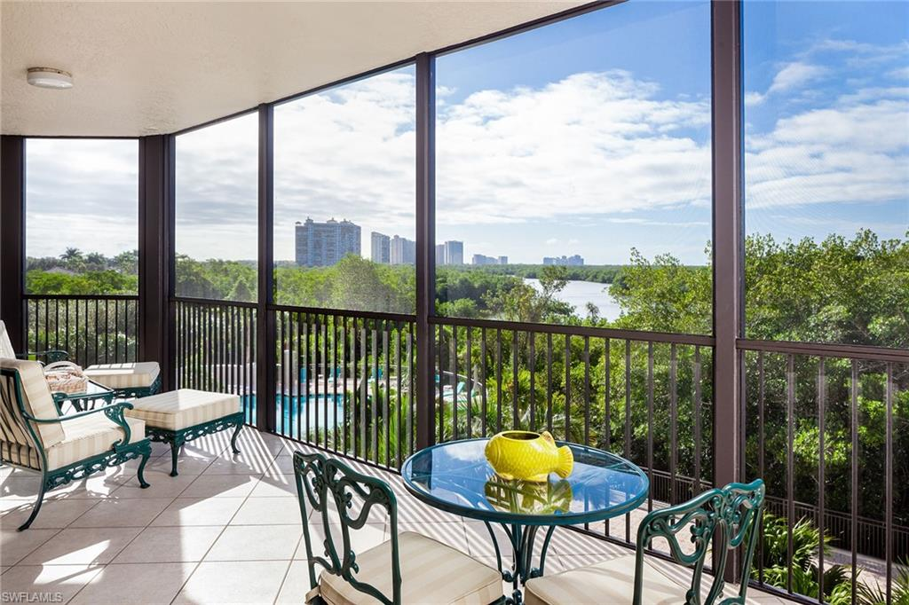 This lovely 3-bedroom, 3-bathroom condominium in Toscana at Bay Colony provides more than 2,500 square feet of living space and has some of the most beautiful preserve views in the area, including Clam Pass and the distant lights of Park Shore. The building's southern exposure puts more sunlight on the pool deck than other Bay Colony high-rises. The newly completed first-floor renovation features a magnificent foyer and lobby, social room, fitness center and guest suites. You have easy access to your residence from a secure private elevator to your own front door, by stairs, or by an additional service elevator. The condominium is just a short distance to the stunning, completely remodeled Bay Colony beach and tennis clubs (membership included). The Toscana is a superb building in exclusive, private, amenity-rich Bay Colony, and lends itself to enjoying a very desirable lifestyle.