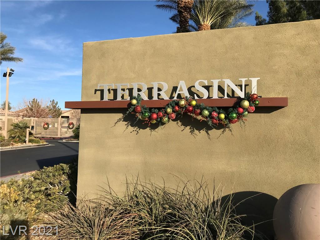 """Look no further, a prime location in N Las Vegas, One-bedroom, one-car garage.  """"This is it!""""  Located on first floor in a gated community w/modern video entry, functional open floor plan with spacious rooms and private balcony.  Terrasini community is gated and includes community pool, basketball court, bbq area, and playground. All of this and close to shopping, restaurants, parks & recreation, freeway access, Aliante Hotel & Casino, Walmart, Costco and next to the 215 HWY for Easy access to Nellis Air Force Base.  Do NOT Miss Out!  Location, Location, Location!!!"""