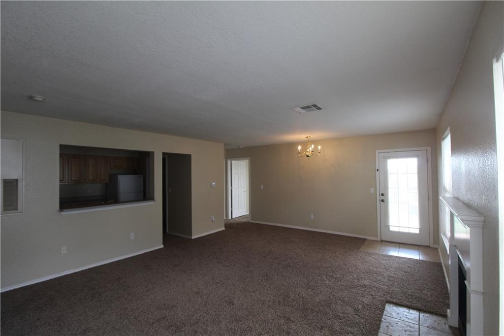 2 BEDROOM 2 BATH DUPLEX!!! SPACIOUS LIVING!!! Must see this duplex. 2 FULL bathrooms, laundry area, fridge,stove,dishwasher supplied. Fireplace in living room. Small patio and yard area. 2 car garage. Very quiet area.  Security deposit is equivalent to one month rent. Application fee is $40 per adult.
