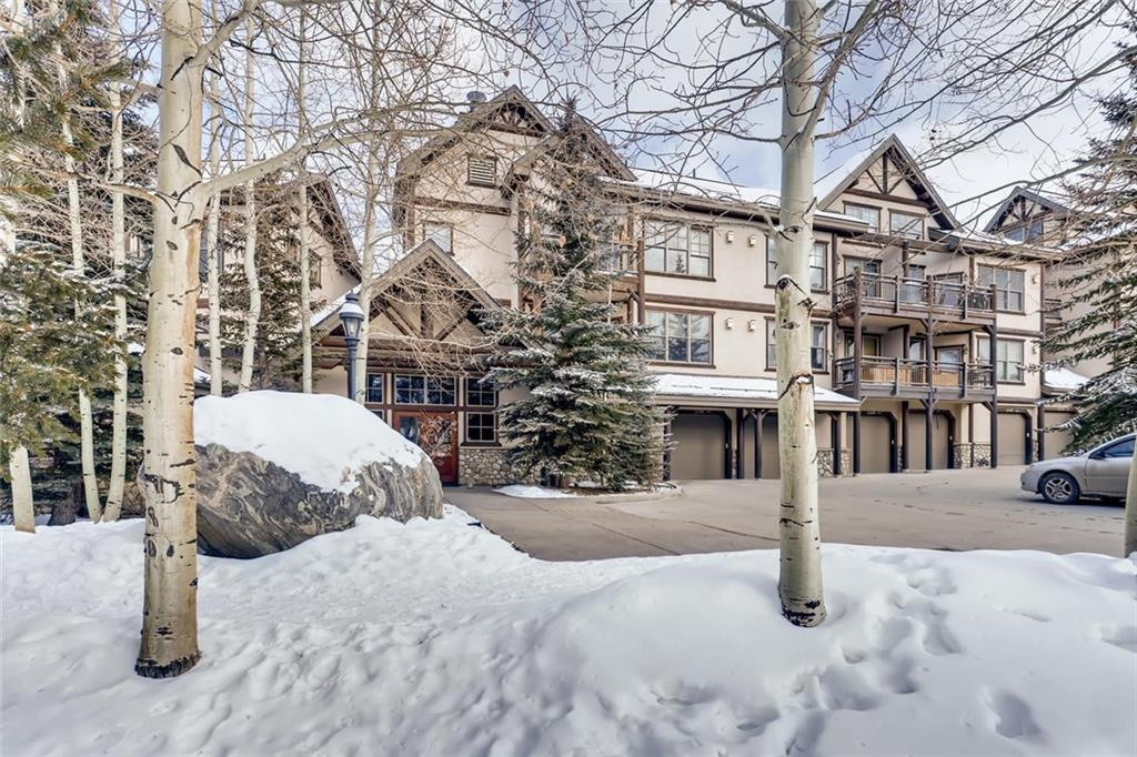 Front row center Corral at Breckenridge condo with a view of the ski slopes and the Ten Mile Range! Short walk to skiing and all that Breckenridge has to offer downtown. Personal hot tub with a view of the ski area! Private one car garage and a second parking spot in front of the garage.  Community exercise room, hot tubs. On site property management. Heated driveways!