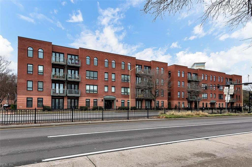 Welcome home to this stunning Urban/loft style condo.  Featuring 2 bedrooms, 2 baths, remodeled kitchen, quartz counter tops, new LVT flooring, tile bathrooms, and bedrooms have hard wood.  Amenities include water, sewer, trash, shared storage, assigned parking, ground maintenance secure elevator.  A short walk to MacArthur Mall and the Granby St eateries and nightlife. Sip your coffee on your balcony styled patio! One minute to interstates.  Enjoy downtown Norfolk at it's best!